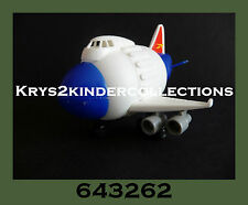 Jouet kinder Capsule Avion World Traveller 643262 Allemagne 2000