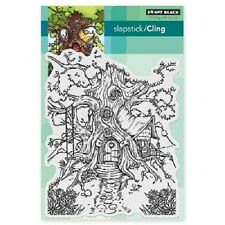 PENNY BLACK RUBBER STAMPS SLAPSTICK CLING COTTAGE TREEHOUSE NEW STAMP