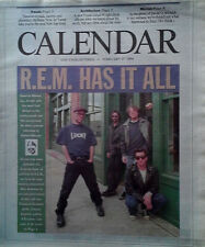 CALENDAR MAGAZINE / LOS ANGELES TIMES - R.E.M. COVER STORY - FEBRUARY 27, 1994