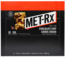 NEW MET-RX BIG 100 MEAL REPLACEMENT BAR NATURALLY FLAVORED DAILY BODY SUPPLEMENT