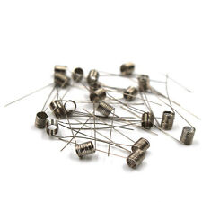 20pcs 30AWG 0.3ohm Nickel Ni200 Pre-Coiled Wire Coil RDA RTA atomizer Vapor