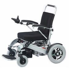 Electric Wheelchair, Portable Motorized Foldable Lightweight Wheelchair Scooter