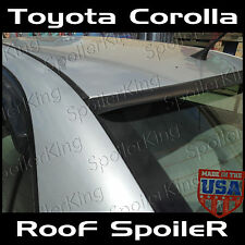 Toyota Corolla 2003-2008 Roof window Spoiler Wing Unpainted New