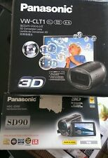 Panasonic hdc sd90 plus 3d leans