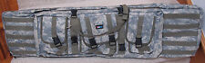 """42"""" Paddled Doublel Rifle Bag Fit 2 Rifle & with Many Pockets. ACU Color"""