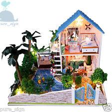 DIY Handgefertigte Miniatur-projekt My Kleine House in Spanien Holz Puppenhaus