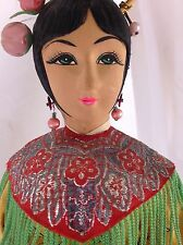 VINTAGE JAPANESE DOLL 15 INCHES. GEISHA GIRL IN KIMONO