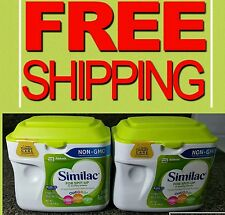 New! 2 Tubs Similac For Spit-Up NON- GMO Infant Formula Powder 1.41LB= 336oz