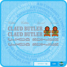 Claud Butler - Colstar - Special - Bicycle Decals Transfers Stickers - Set 13