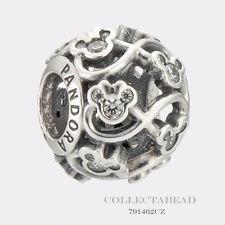 Authentic Pandora Sterling Silver  Minnie & Mickey Infinity CZ Bead 791462CZ