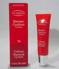 Clarins Color Quench Lip Balm 14 Blood Orange , 15ml