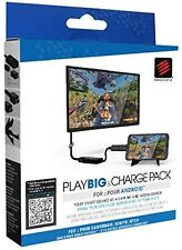 Madcatz PlayBig Charge Pack Android Smartphone Media Centre Adapter New