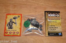 KRE-O A6735 DUNGEONS & DRAGONS Army Builder Packs Coll.1 STATUE WARRIOR Figure