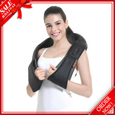GESS012 Shiatsu Kneading Back Neck Shoulder Full Body Massager with Heat