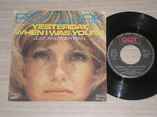 """ROY CLARK - YESTERDAY, WHEN I WAS YOUNG /JUST ANOTHER MAN - 45 GIRI 7"""" ITALY"""