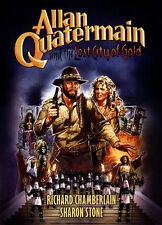 ALLAN QUATERMAIN AND LOST CITY OF GOLD rare dvd RICHARD CHAMBERLAIN Sharon Stone