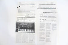 Original Oberheim Brochures: Matrix 6/12 Xpander OB-8 Xk Stretch DMS DSX DX DMX
