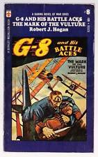 1971 pulp paperback G-8 AND HIS BATTLE ACES #8: THE MARK OF THE VULTURE