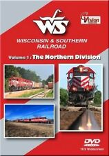 Wisconsin & Southern Railroad  Volume 1 The Northern Division DVD NEW Cvision