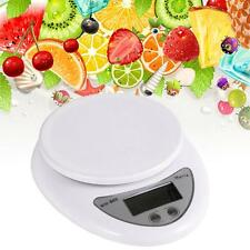 5kg/1g Kitchen Digital Scale LCD Electronic Balance Food Weight Postal Scales MT