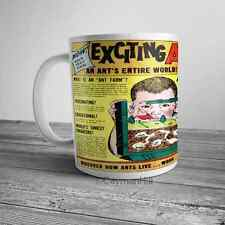 Vintage Amazing Ant Farm Toy Advertising Comic Ad on NEW Coffee Mug Cup