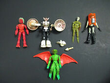 MICRONAUTS LOT MEMBROS TIME TRAVELER ACROYEAR GALACTIC DEFENDER AND REPTO MEGO!