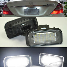 2x error free LED LICENSE PLATE LIGHT For Chrysler Crossfire Coupe/Cabrio 03-07