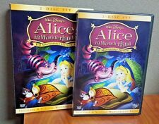 Authentic Disney Alice in Wonderland (DVD 2-Disc Set The Masterpiece Edition) LN