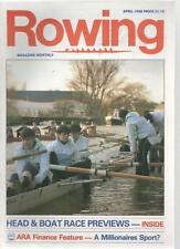ROWING MAGAZINE - April 1988