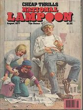 National Lampoon-aug 1977-----77