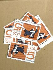 100 USED STAMPS SCOTT #1307 5c Humane Treatment of Animals