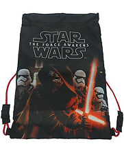 Star Wars Ep. 7 The Force Awakens Rule Galaxy Drawstring Trainer School Bag