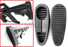 6 Position Rifle Stock Recoil Heavy Duty Rubber Non-Slip Standard Buttpad
