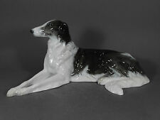 Rosenthal Barsoi Borzoi 40 cm Windhund Greyhound Hund dog Figur figure porcelain