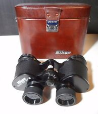 NIKON 10 X 35E REFURBISHED BINOCULARS 6.6 DEGREES WF -WITH CASE - MINT CONDITION