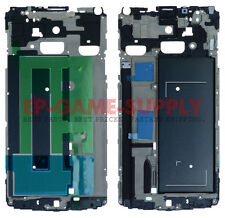 LCD Frame Metal Housing For Samsung Galaxy Note 4 N910A N910T N910F Silver Grill