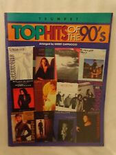 Top Hits of the 90's for Trumpet Music Book