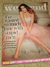 Weekend Magazine 2014 KELLY BROOK Jules Knight Danny Miller Stephanie Beacham
