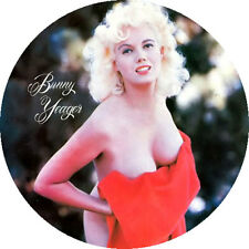 CHAPA/BADGE BUNNY YEAGER . bettie page june wilkinson tempest storm pin up cramp