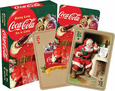 COCA COLA - SANTA - PLAYING CARDS - 52 CARD DECK NEW - CHRISTMAS CLASSIC 52234
