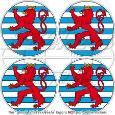 LUXEMBOURG NATO Boeing Sentry AWACS OTAN Cocarde 50mm Autocollant x4 Stickers