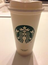 Starbucks Reuasble Plastic Grande (16oz) Coffee/Tea Tumbler Recyclable Brand New