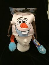 NEW Disney Frozen OLAF FLIPEEZ Winter Hat, Braid Moves, Costume, Blue