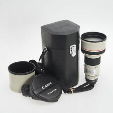 Canon FD 300mm F2.8 L Manual Focus Telephoto Lens AE A1 F1 w/Hood & Case Bundle