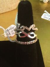 Premier Designs Infinite Love Ring New In Box $46 Retail Size 9