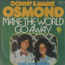 "7"" Single - Donny & Marie Osmond - Make The World Go Away - S55"