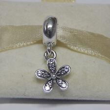 New Authentic Pandora 791491CZ Dazzling Daisy Dangle Box Included