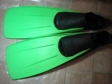 Antiguas aletas buceo NEMROD 43-44 UK 8 10 diving vintage SCUBA Fins collectors