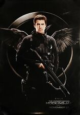 The Hunger Games Mockingjay Part 1 Gale Double Sided Movie Poster 27x40