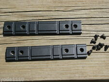 TWO RUGER 10/22 22 LR FACTORY SCOPE MOUNT OEM PART TWO scope mounts weaver style